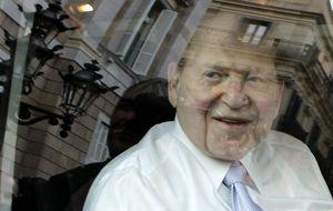 Adelson presenta Eurovegas pero la condiciona a subvenciones
