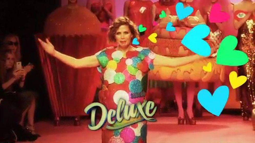 Foto: Agatha Ruiz de la Prada, protagonista de 'Sábado Deluxe'. (Telecinco)