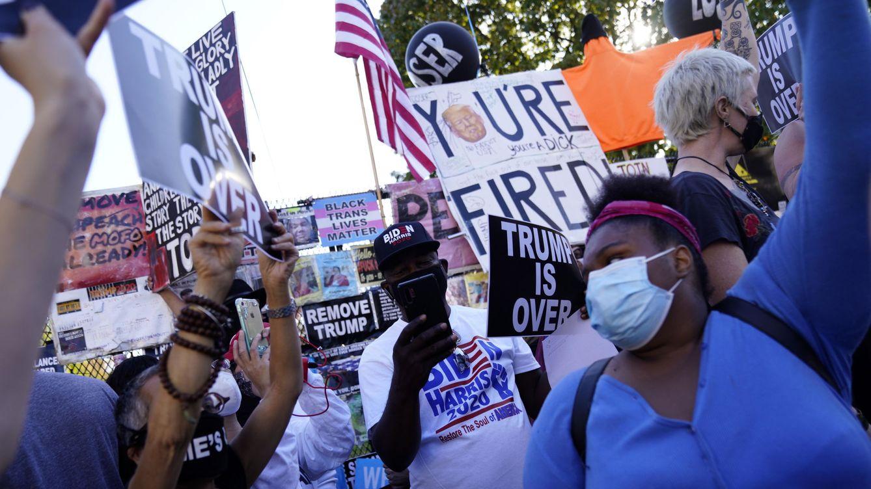 Donald Trump, estás despedido: éxtasis demócrata tras una pesadilla de 4 años