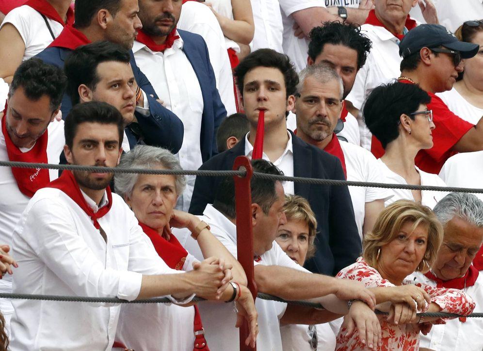 Foto: Froilán Marichalar y Borbón asistió a la cuarta corrida de abono de la Feria del Toro que se celebra estos días en Pamplona con motivo de las fiestas de San Fermín. (EFE/Villar López)