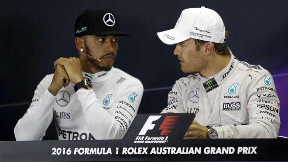 Hamilton: 72 km para resolver un problema que ni despeinó a Rosberg