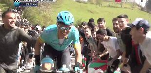 Post de Pedro León sorprende a su hermano 'Luisle' en plena Vuelta al País Vasco