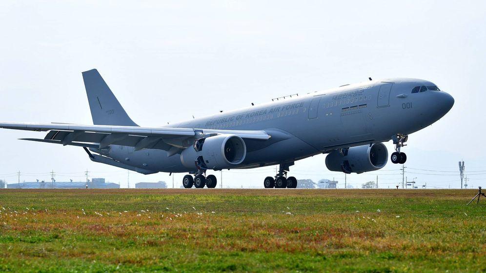 Foto: Un avión carguero MRTT. (Airbus)