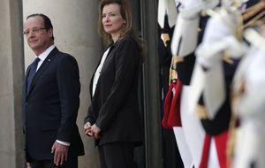 La primera dama francesa abandona el hospital tras ocho días