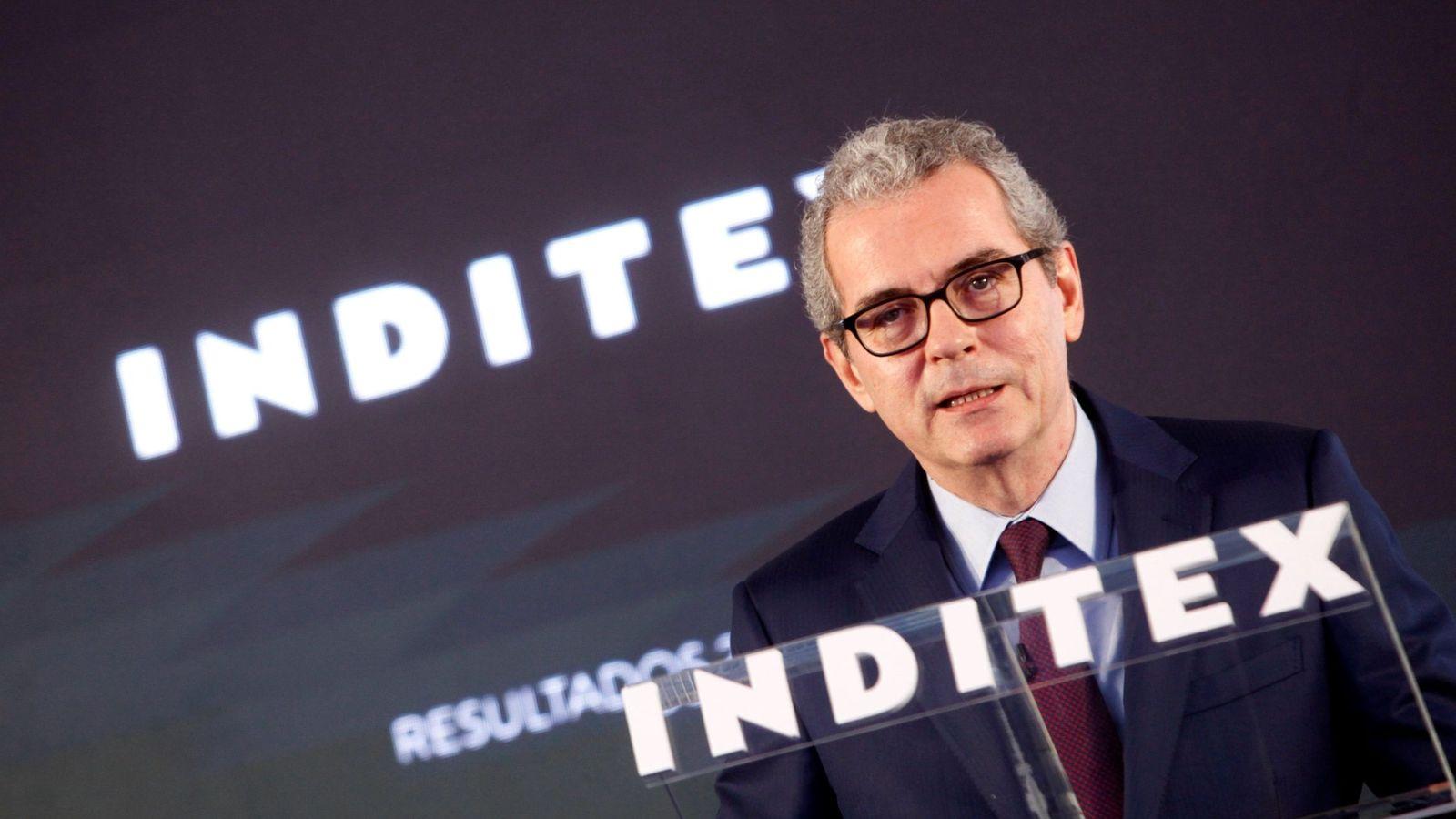 Foto: El presidente de Inditex, Pablo Isla