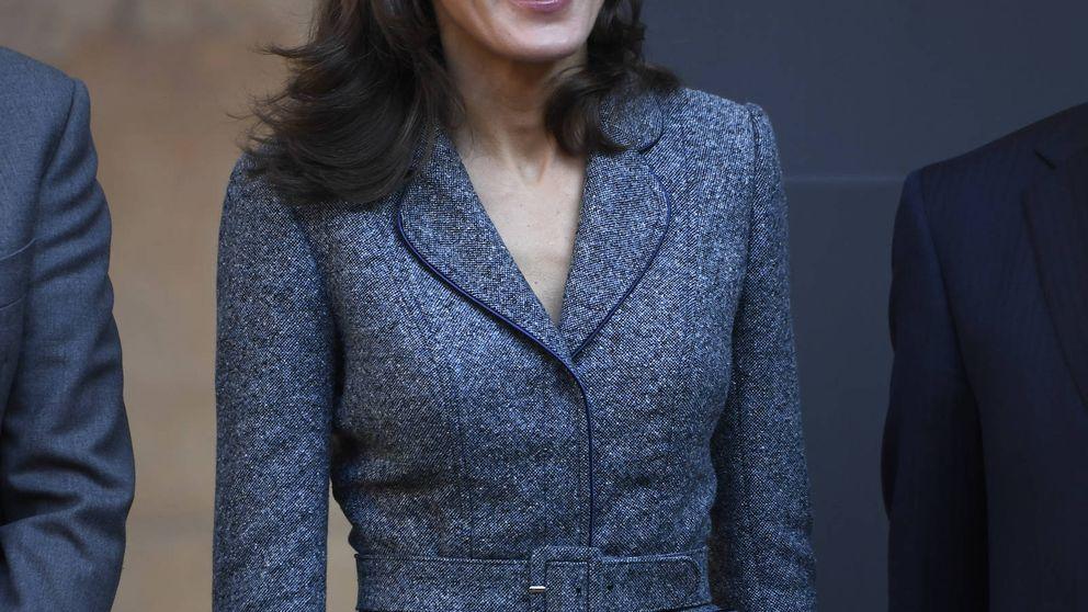 La reina Letizia en la Alhambra: el recuerdo a Leonor en una fecha señalada