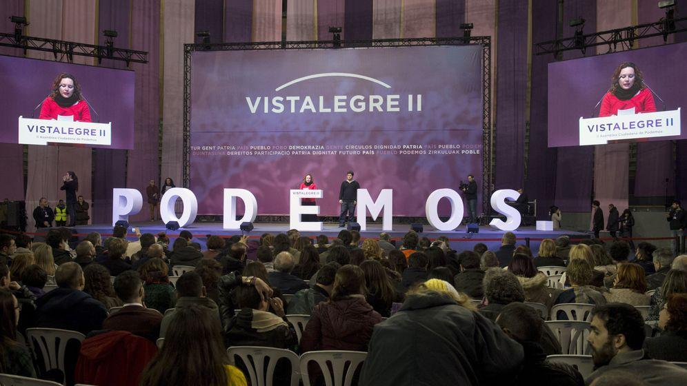 Foto: Asamblea ciudadana estatal de Podemos. (EFE)