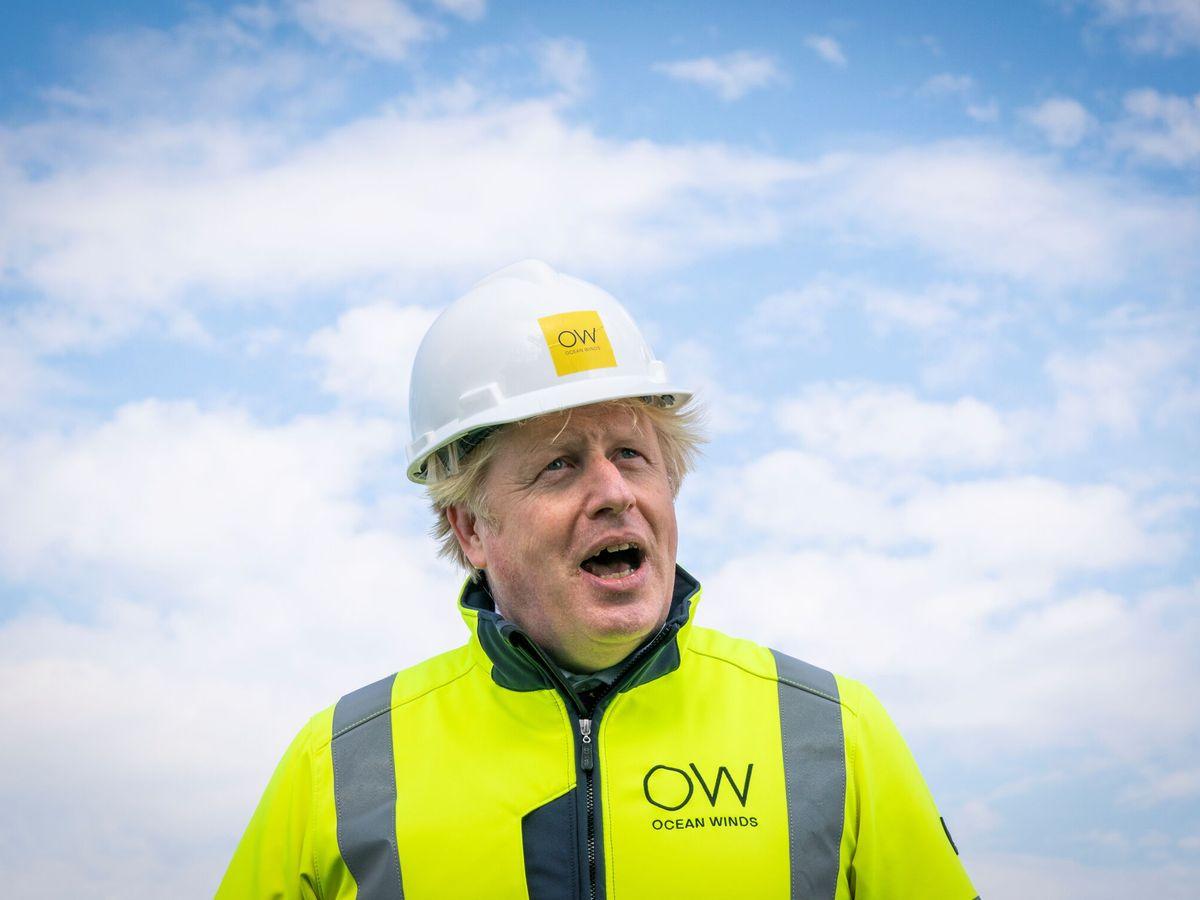 Foto: Boris Johnson, durante su visita a Escocia. (Reuters)