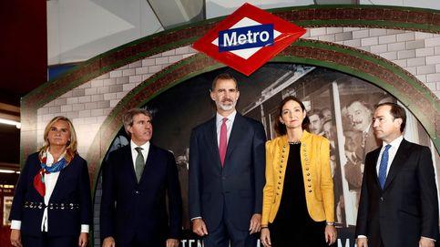 El día en que el Rey Felipe viajó en Metro