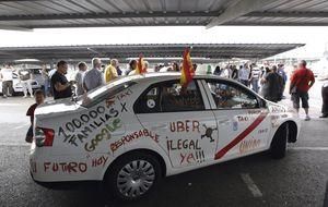 Los taxistas españoles ganan la batalla a Uber: cese y prohibición por competencia desleal