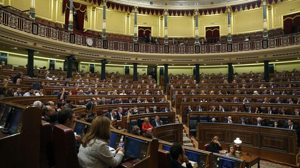 Foto: Vista general del hemiciclo del Congreso. (EFE)