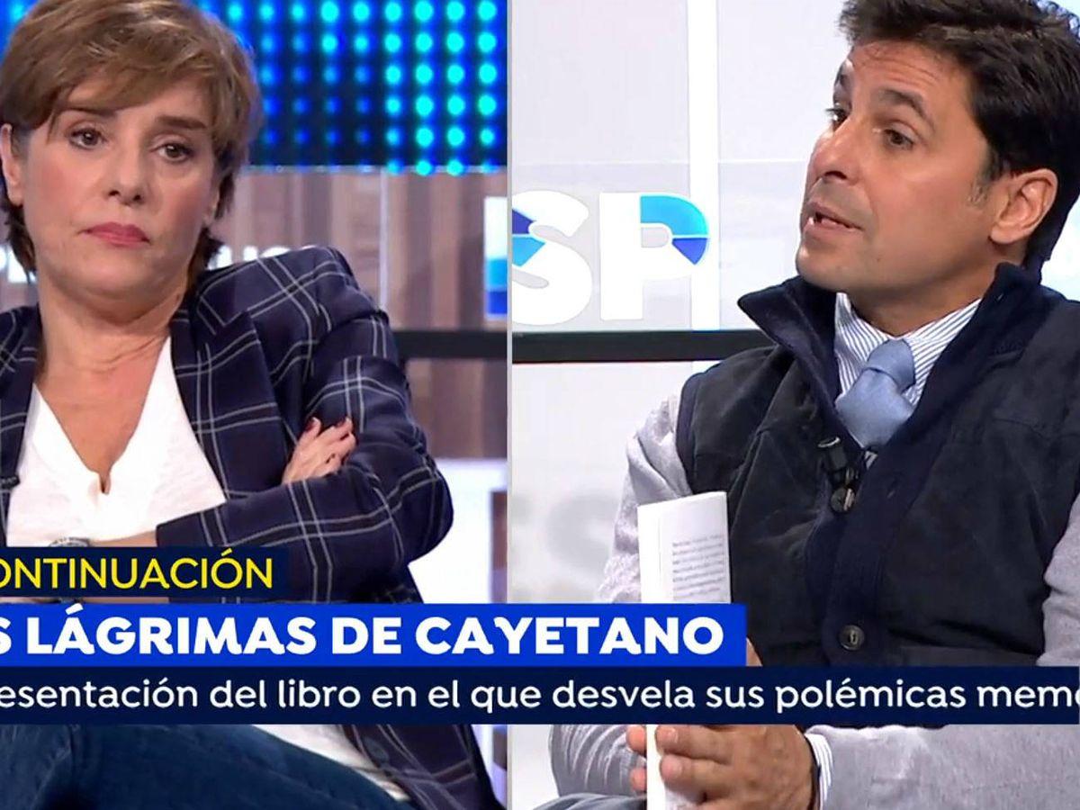 Foto: Anabel Alonso y Fran Rivera, en 'Espejo público'. (Atresmedia Televisión)