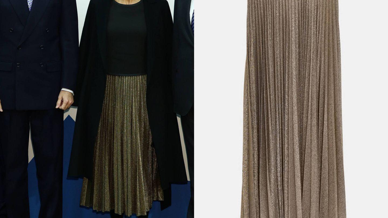 Imagen de Cordon Press y falda de Zara.