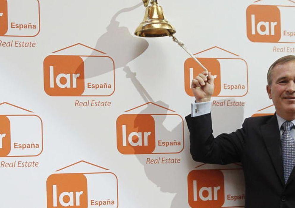 Foto: El presidente de Lar España Real Estat, José Luis del Valle (Efe)