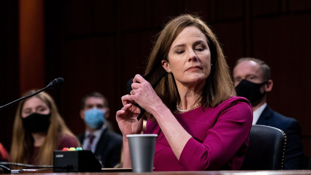 Foto: La jueza Amy Coney Barrett. (Reuters)