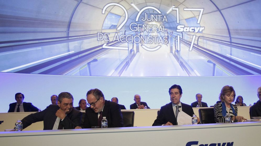 Foto: Junta general de accionistas de Sacyr. (EFE)