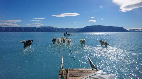 La impactante foto que muestra lo rápido que se está derritiendo el hielo en Groenlandia