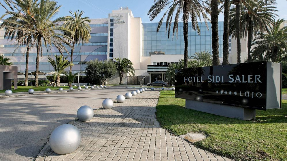 Foto: Hotel Sidi Saler, hoy cerrado.