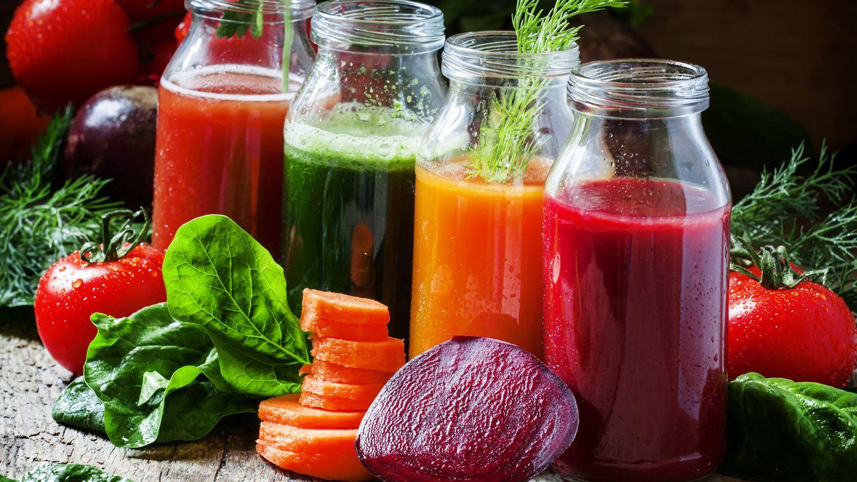 La dieta detox o detoxificante propone la ingesta de batidos.