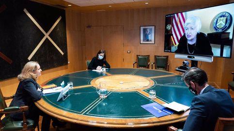 Calviño y Yellen muestran su disposición para un acuerdo de fiscalidad en la OCDE
