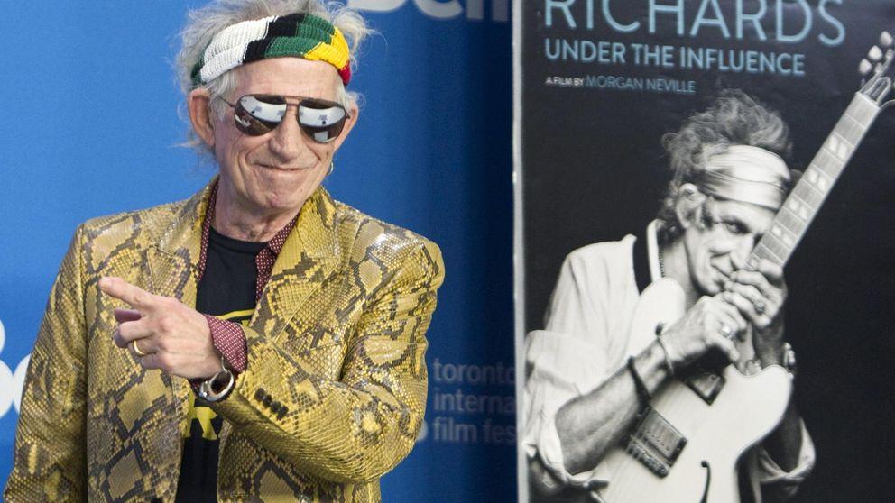 Keith Richards: el icono rockero más cutre del mundo