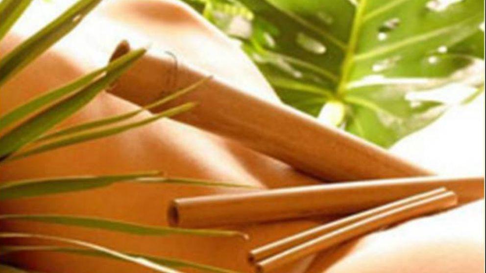 Bambuterapia: descubre los beneficios del masaje que te da más caña