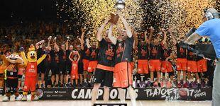 Post de El Valencia gana al Madrid y conquista la ACB por primera vez en su historia