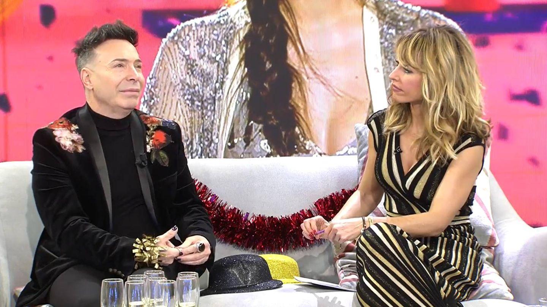 Maestro Joao y Emma García, en 'Viva la vida'. (Telecinco)