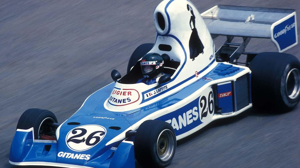 Foto: Guy Ligier: ¿Se imaginan a Enzo Ferrari destrozando sus propios monoplazas?