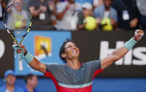 Nadal pasa a semifinales pidiendo respeto y haciendo llorar a Dimitrov