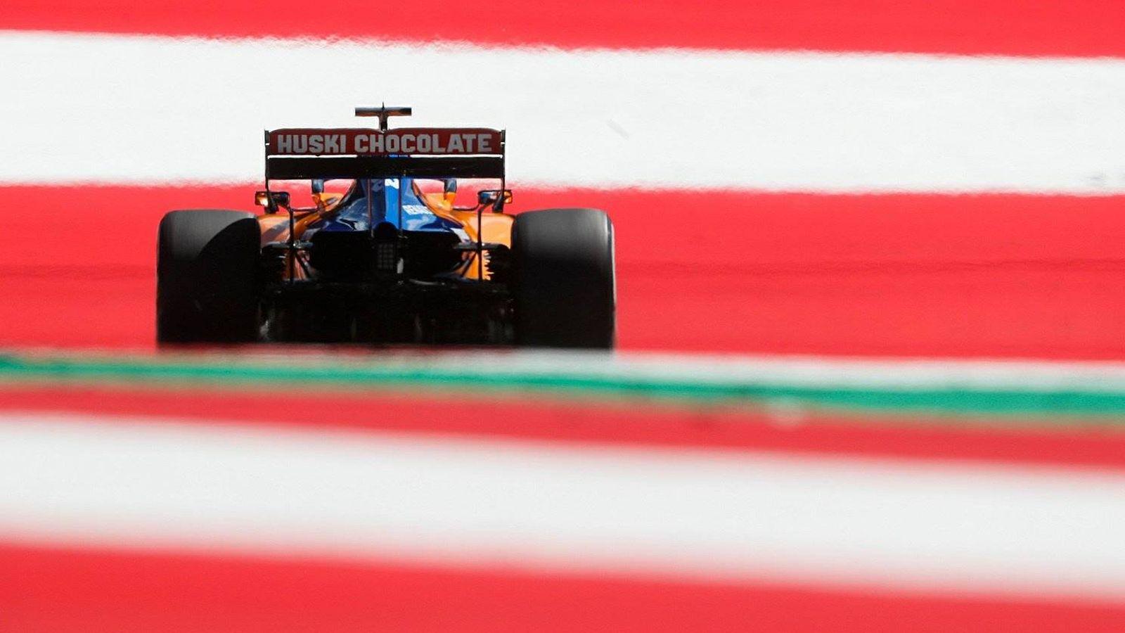 Foto: Sainz tuvo una gran jornada en el Red Bull Ring, pero solo podrá aspirar a una gran remontada. (MCLaren)