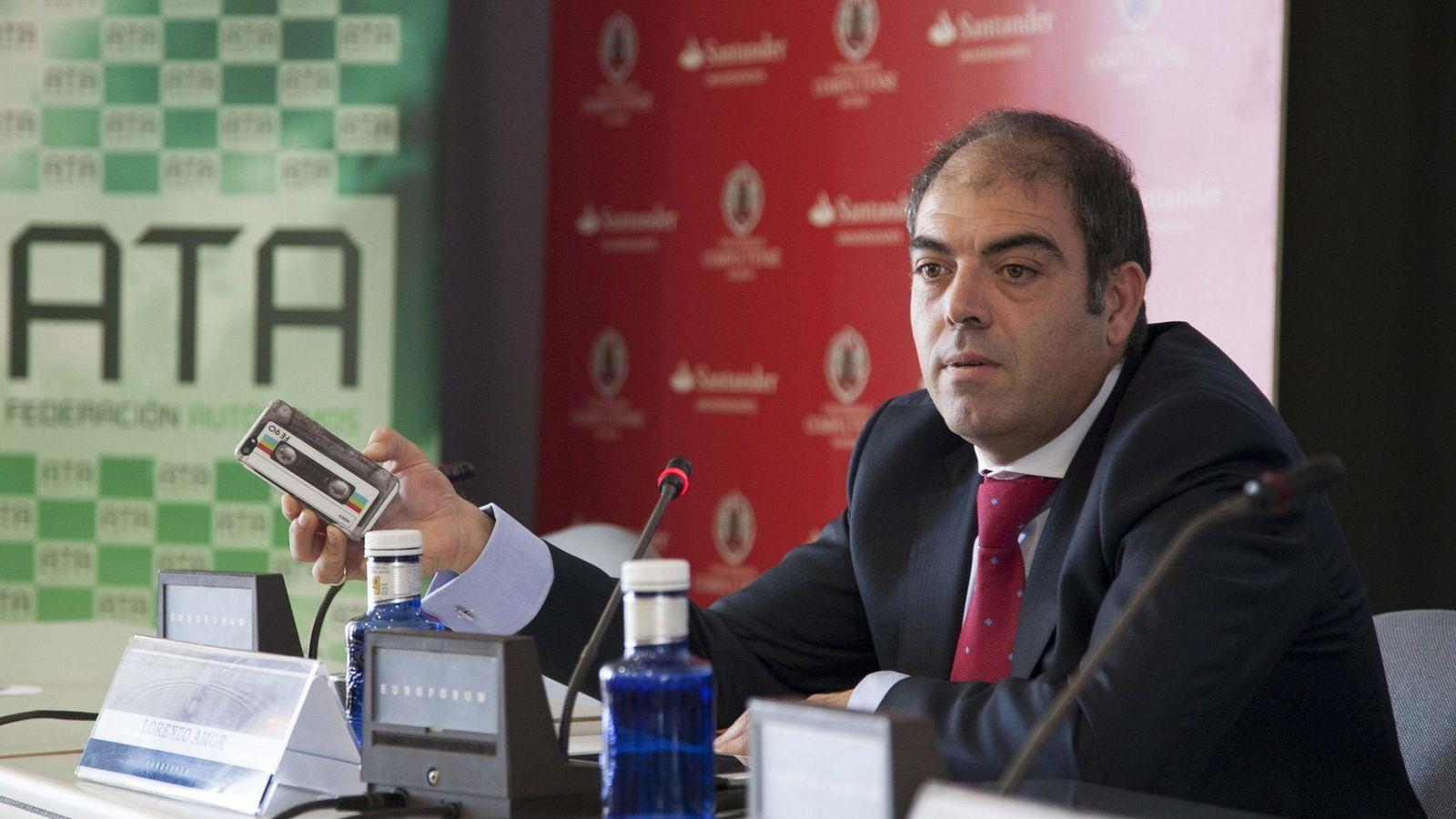 Foto: El presidente de la Federación Nacional de Trabajadores Autónomos (ATA), Lorenzo Amor. (EFE)