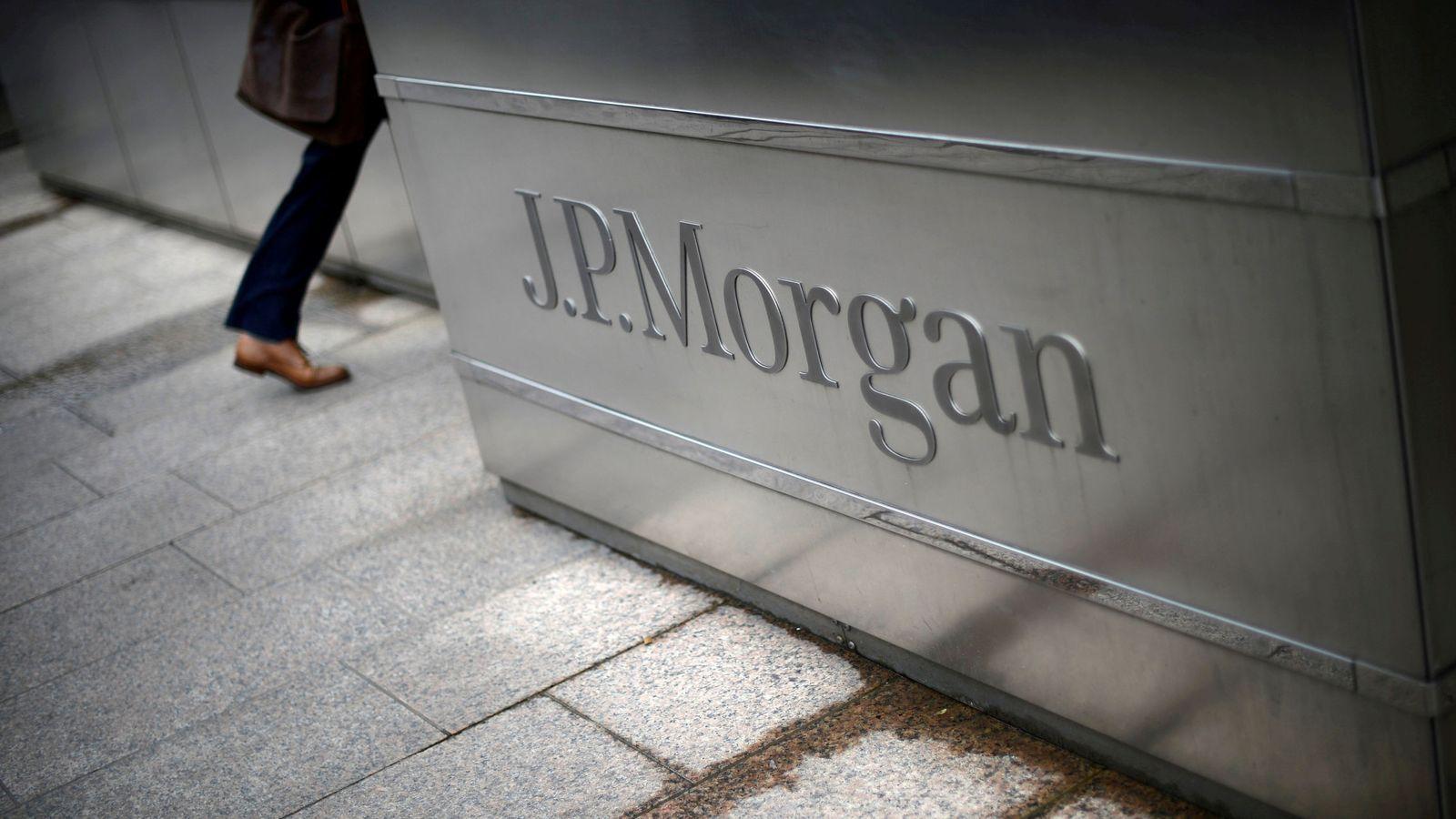 Foto: JP Morgan. (Reuters)