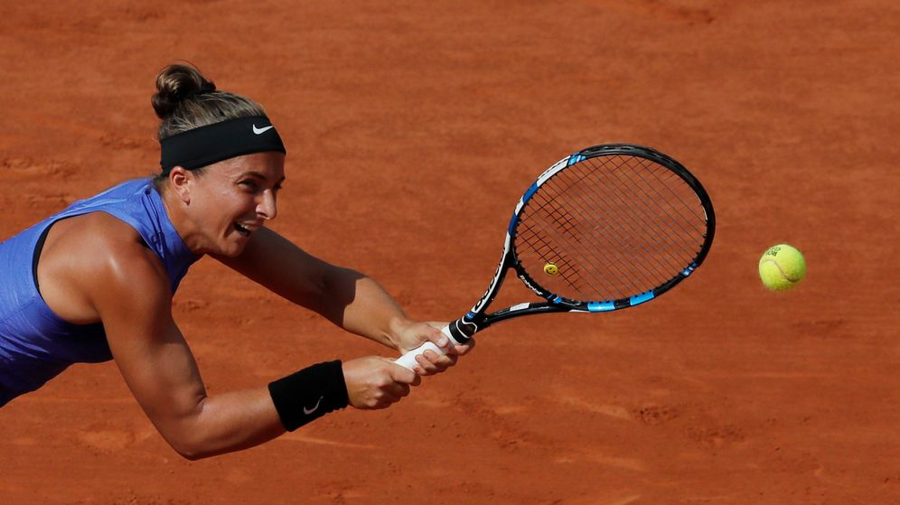 Foto: Errani, en Roland Garros. (EFE)