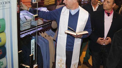Gloria Camila inaugura su tienda en Sevilla con el apoyo de su padre, José Ortega Cano