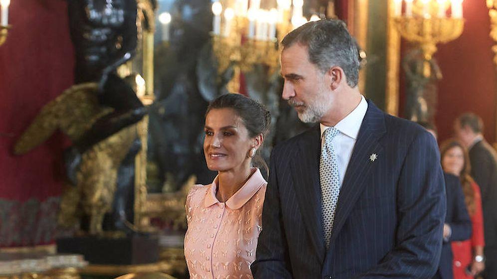 Foto: Los reyes durante la recepción del Día de la Fiesta Nacional. (Limited Pictures)