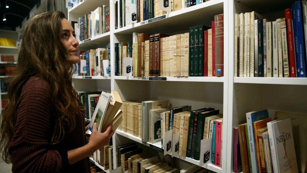 Foto: Librería 'low-cost' en Barcelona