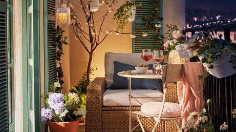 Decora una terraza, un jardín o un pequeño balcón con estas opciones de Ikea