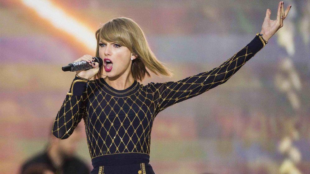 Foto: Taylor Swift fue una de las últimas artistas en protestar contra los servicios de 'streaming'. (Reuters)
