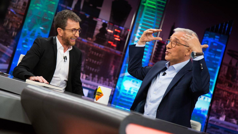 Pablo Motos y Xavier Sardá en 'El hormiguero'. (7yAcción)