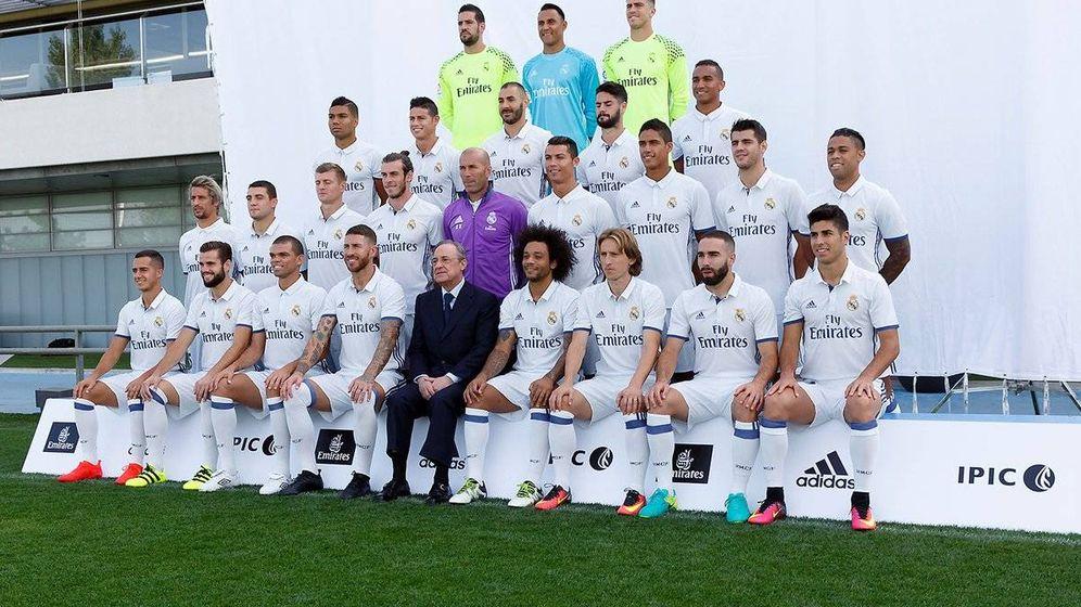 Foto: La foto oficial del Real Madrid. (Realmadrid.com)
