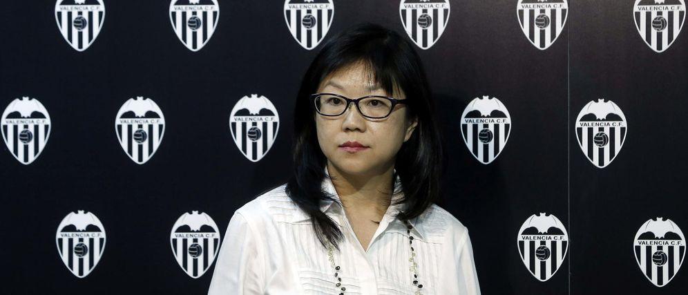 Foto: Lay Hoon, presidenta ejecutiva del Valencia, explicó la salida de Nuno del club (EFE)
