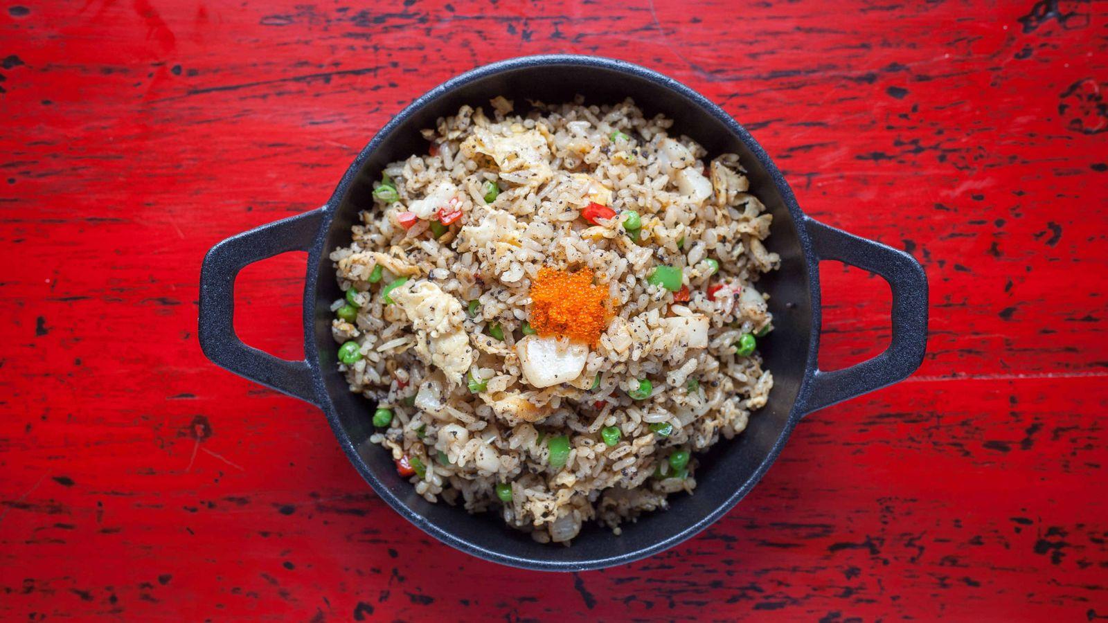 Foto: Uno de los deliciosos platos de The One.