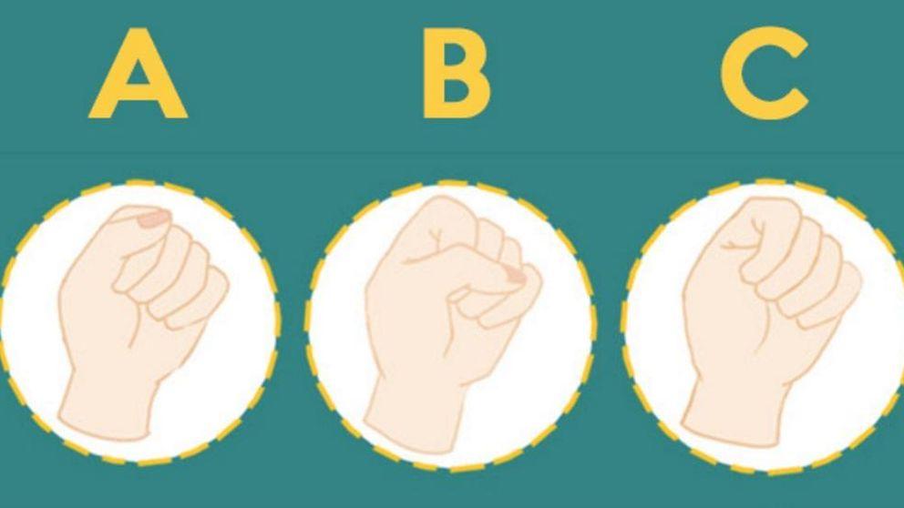 ¿Cómo cierra el puño? Así es su personalidad según la postura de los dedos
