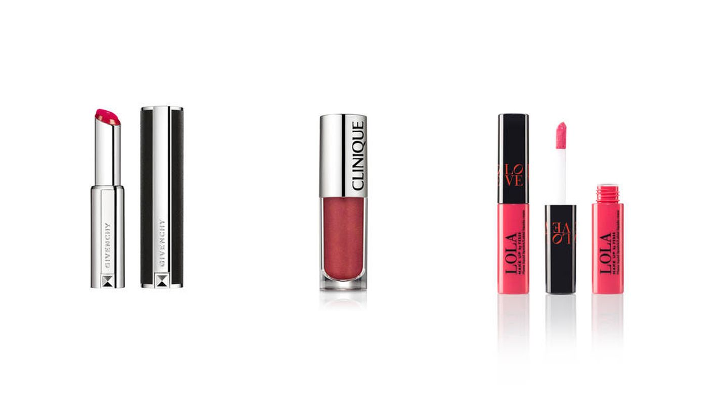 Givenchy, Clinique y Lola Make Up.