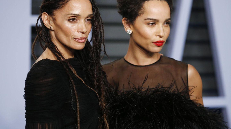 Zoë Kravitz, junto a su madre, Lisa Bonet, en una imagen de archivo. (Reuters)