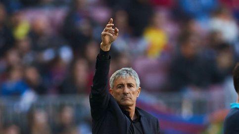 Mientras dure Quique Setién o cómo prepara el asalto del Barcelona al Santiago Bernabéu