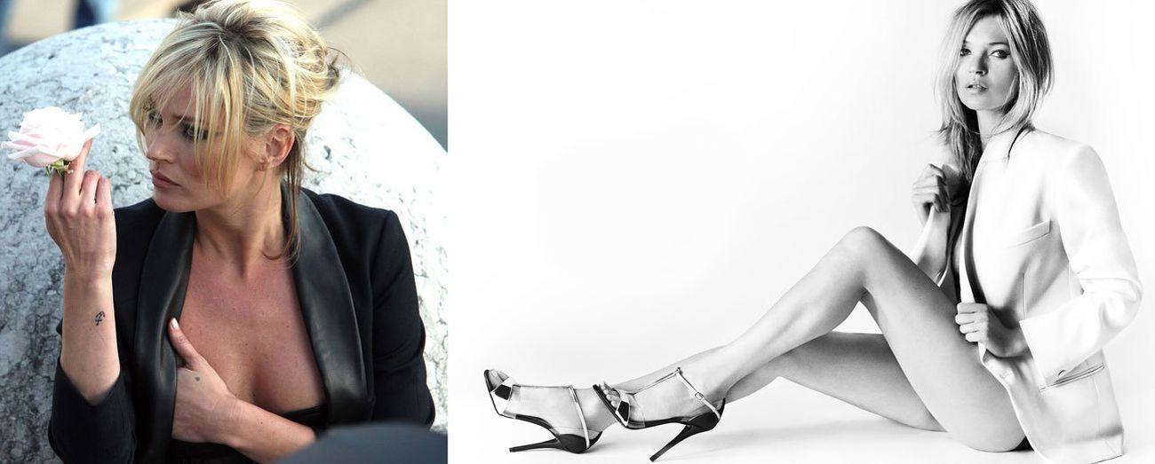 Foto: Seis señales de que Kate Moss podría estar pasada de moda