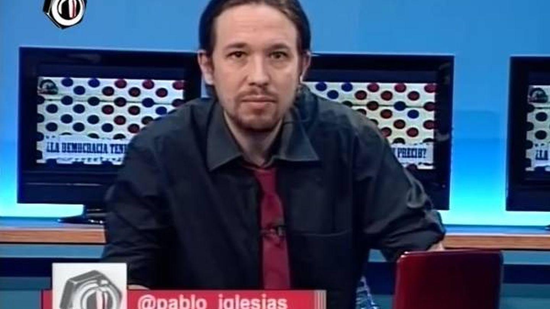 Pablo Iglesias, en La Tuerka.