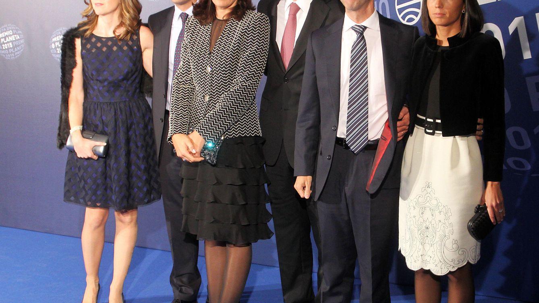 Foto: José Manuel Lara García (en el centro) durante los Premios Planeta (Gtres)